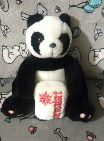Panda Pelúcia - Coleção Parmalat
