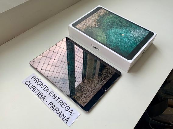 iPad Pro 10.5 512gb Wifi + Celular Cinza. Usado. Na Garantia