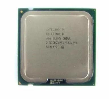 Processador Intel® Celeron® D 326 Cache De 256k