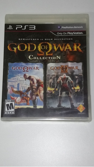 God Of War Collection - Ps3 - Americano Novo E Lacrado