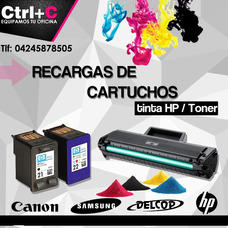 Recarga Y Remanufactura De Cartuchos De Toner Y De Tinta
