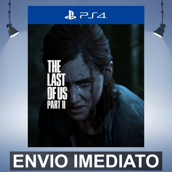 The Last Of Us 2 Padrão Pre Venda - Ps4 Código 12 Dígitos