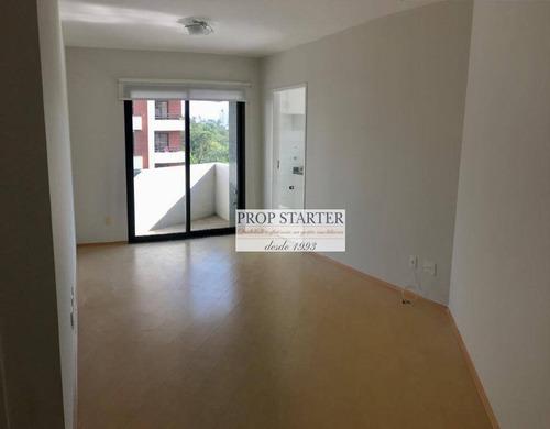 Imagem 1 de 12 de Apartamento Com 1 Dormitório Para Alugar, 43 M² Por R$ 1.800/mês - Aclimação - Propstarter Adm.imóveis - Ap0644