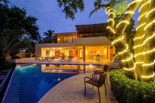 Imagen 1 de 12 de Casa En Venta En Nuevo Vallarta Con Canal $2,499,000usd