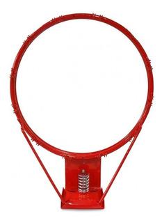 Aro Basquet Nº 7 Con Resorte + Red De Regalo Basket - Olivos