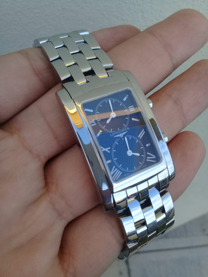 Reloj Longines Dolce Vita Dual Time Impecable Swiss Made