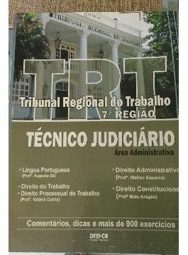 Apostila Trt - 7ª Rf - Técnico Judiciário (várias Discipl...