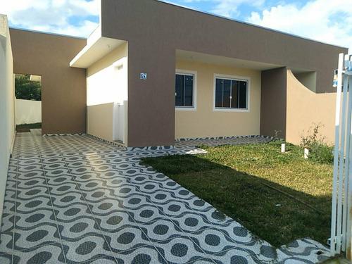 Imagem 1 de 30 de Casa Com 3 Dormitórios E 1 Suíte À Venda, 61 M² Por R$ 279.000 - São Marcos - São José Dos Pinhais/pr - Ca0111