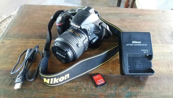 Câmera Fotográfica Profissional Dslr Nikon