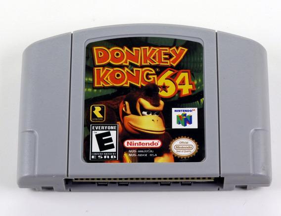 Donkey Kong 64 Nintendo 64 N64 - Americano Novo Salvando
