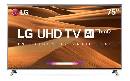 Smart Tv 4k Lg Led 75 Upcaler, Home Dashboard, 4k Hdr Ativo