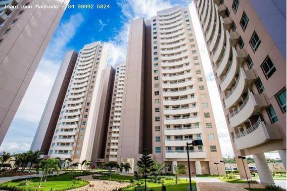 Apartamento Para Venda Em Natal, Candelária - Natture Condomínio Club, 2 Dormitórios, 1 Suíte, 2 Banheiros, 1 Vaga - Ap0571