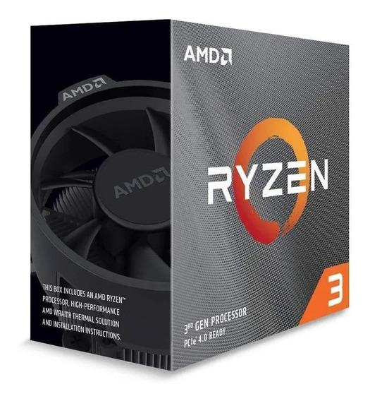 Processador Amd Ryzen 3 3300x 100-100000159box De 4 Núcleos