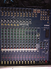 Mesa De Som Yamaha Mg166 Cx Usb + Case Profissional