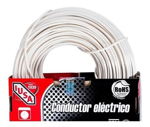 Cable Calibre 12 Thw-ls / Thhw-ls 100 M Blanco