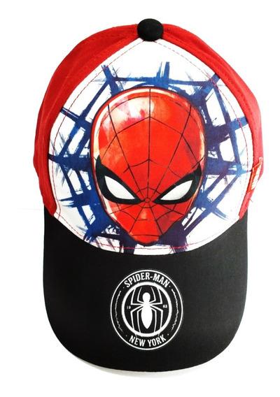 Gorro Spiderman Hombre Araña Con Vicera Footy Fty Calzados