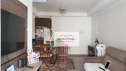 Imagem 1 de 18 de Flex Guarulhos - 3 Dormitórios À Venda, 76 M² Por R$ 430.000 - Vila Galvão - Guarulhos/sp - Ap2448