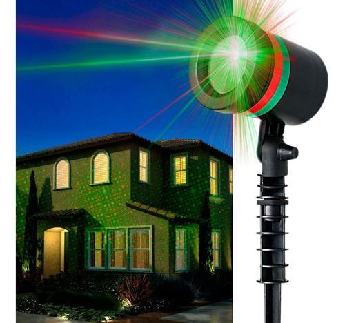 Proyector Puntos Laser Light Para Navidad Luces Led Decorar