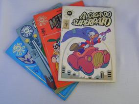 Revista Edição De Luxo Da Disney 1, 2, 3, E 6 -( 1.989/91)