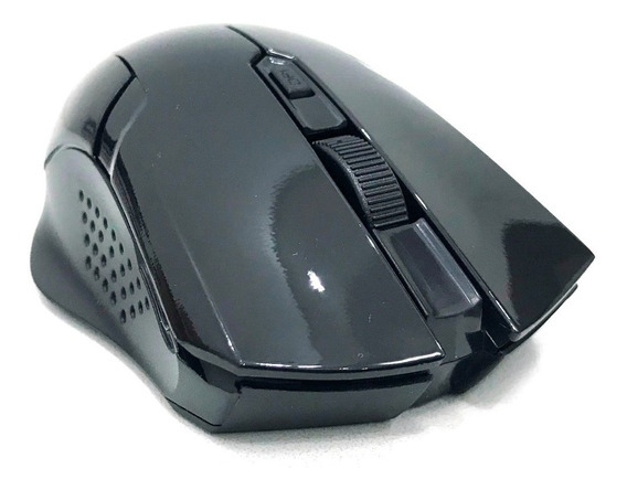 Mouse Ótico 6 Botões S/ Fio Wir. 2.4ghz Alcance 10m V586