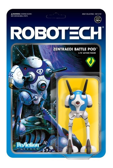 Super 7 Robotech Reaction Figure Battlepod
