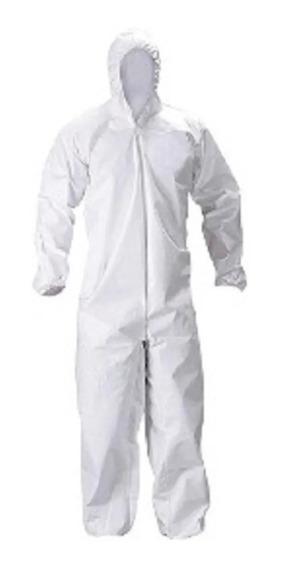 Mameluco Descatable Blanco Apronek Tipo Dupont Tyvek
