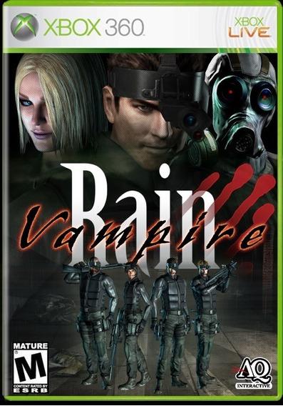 Jogo Lacrado Suspense Vampire Rain Original Para Xbox 360