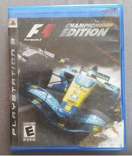 Formula 1 Championship Edition Playstation 3