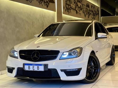 Mercedes C63 Amg 6.2 V8 2012 Com Teto Solar 40.000km Top