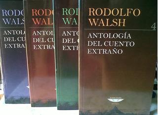 Antología Cuento Extraño, Rodolfo Walsh, Cuenco De Plata