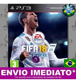 Fifa 18 Ps3 Psn Completo Em Português Mídia Digital