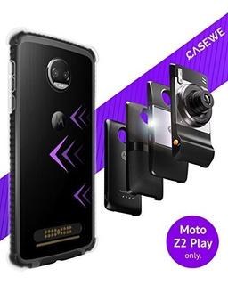 Casewe - Funda Para Motorola Moto Z2 Play/bumper Protector