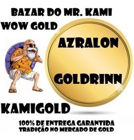500k Gold Azralon Goldrinn Ouro Wow