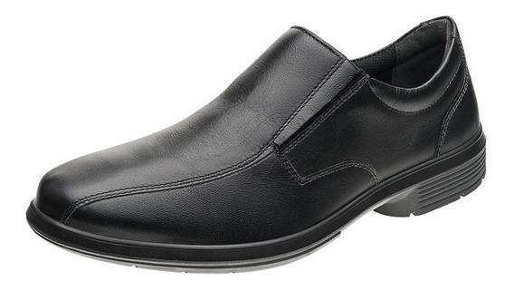 Sapato Masculino Social Couro Preto Trabalho 20s29 Soc S