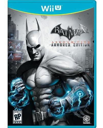 Batman Arkham City Armored Edition - Wii U - Midia Física