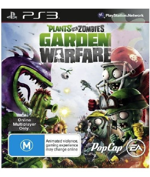 Plants Vs Zumbies Garden Warfare. Jogo Ps3 Em Oferta