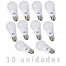 Kit 10 Lâmpadas Led Kian 6w 6000k