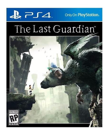 Jogo Mídia Física The Last Guardian Original Playstation 4