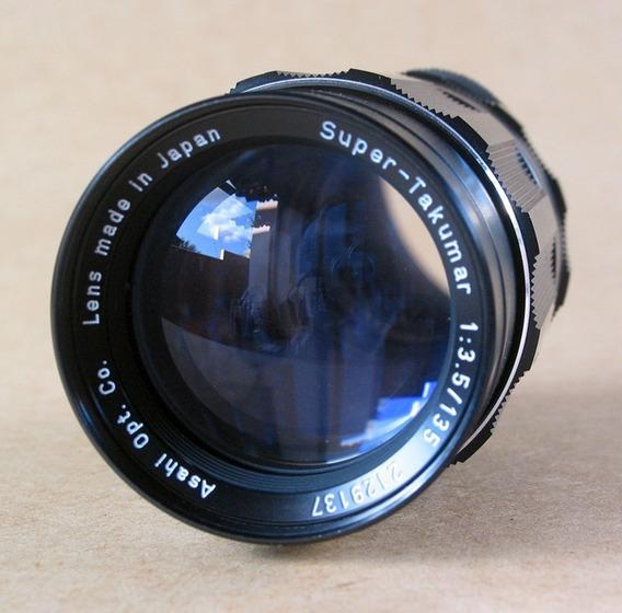 Super - Takumar Asahi Pentax 135mm F3.5 - M42