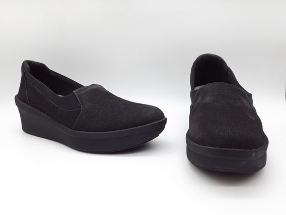 Clarks Cloudsteppers Step Rose Comfort Negro Talla 24.5 Mx