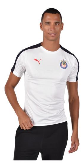 Playera Chivas - Puma - 754025 03 - Blanca Hombre
