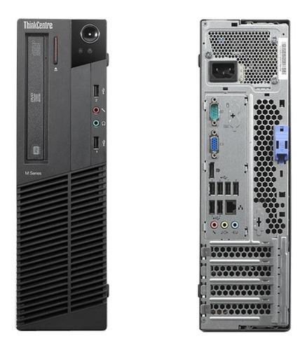 Cpu P/ Uso Empresarial Core I3 4gb Hd 500 + Teclado E Mouse