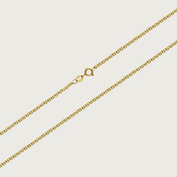 Cordão Em Ouro 18k Com 45cm - 4,8gr