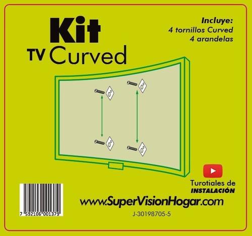 Kit Tv Curved Base Tv Marca Super Vision