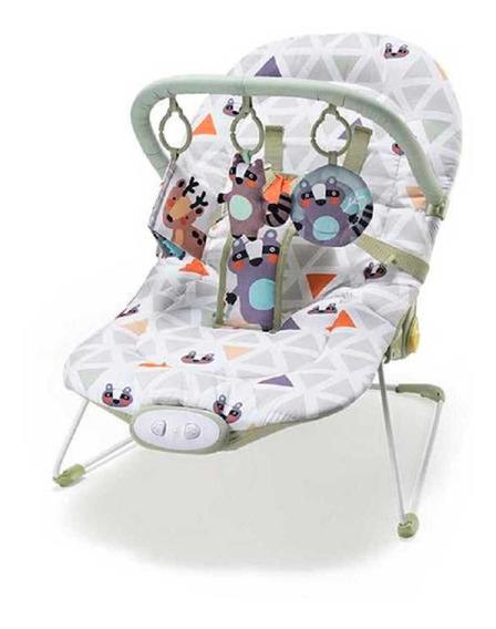 Cadeira De Descanso Vibratória Musical Bebe 0-15kg - Weego