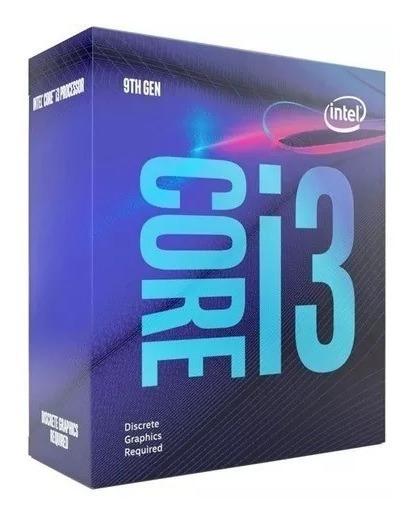 Processador Intel Core I3-9100f 6mb 3.6ghz Lga 1151