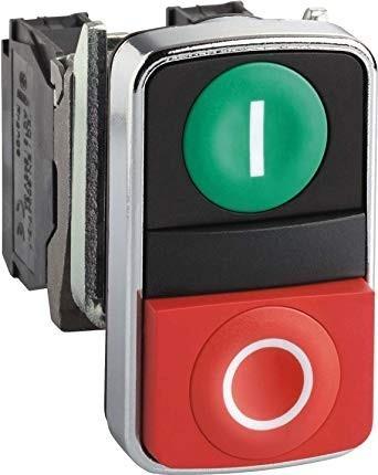 Pulsador Doble Verde + Rojo Dbxb4bl8425 Db Pul0111