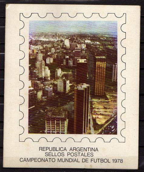 Numismza : Argentina Blister Mundial 78 Series Mint ( H 112) Oferta
