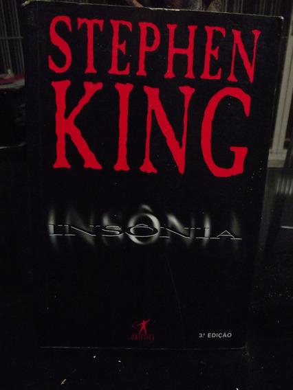 Insônia - De Stephen King - Excelente Estado! Pode Retirar