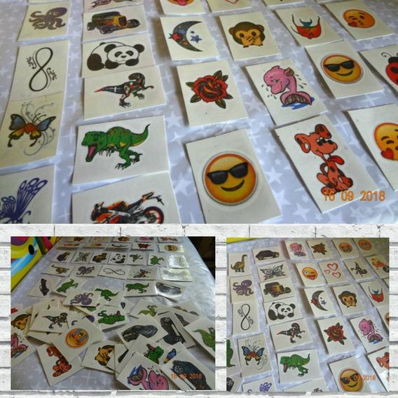 1000 Tatuagens Infantis Temporárias 3x4 Cm- Imbatível!!
